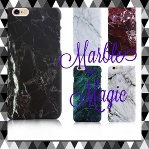Accessories - Matte Thin Marble Phone Case Cover